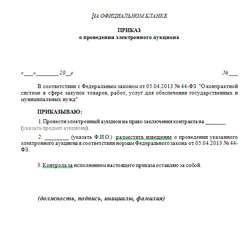 Ответ на запрос о разъяснении аукционной документации по 44 фз образец